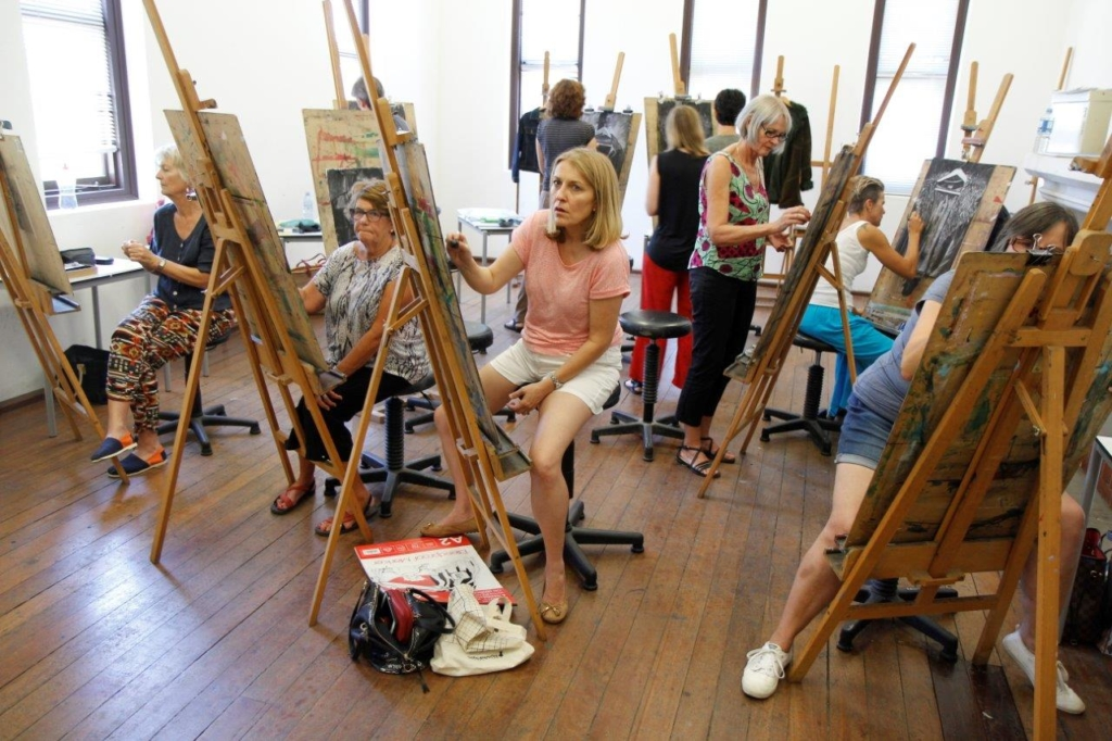 Enrol in one of FAC's fun art courses
