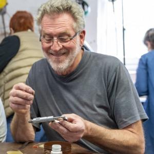 Jewellery tutor Max Butcher