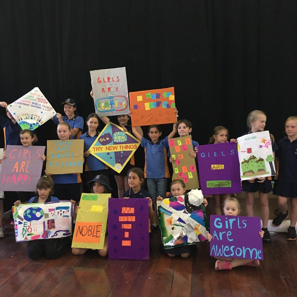 WA Girl Guides workshop 2
