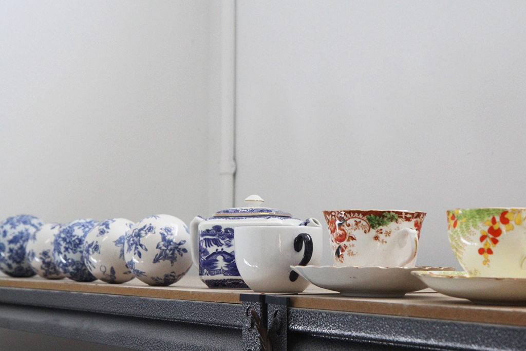 Stephanie Hammill's ceramics collection