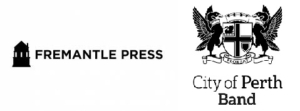 Fremantle Press and City of Perth Band logos