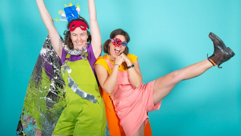 Every Day Super Hero is the creation of WA artists Tanya Lee & Alex Desebrock. Photography by Yvonne Doherty